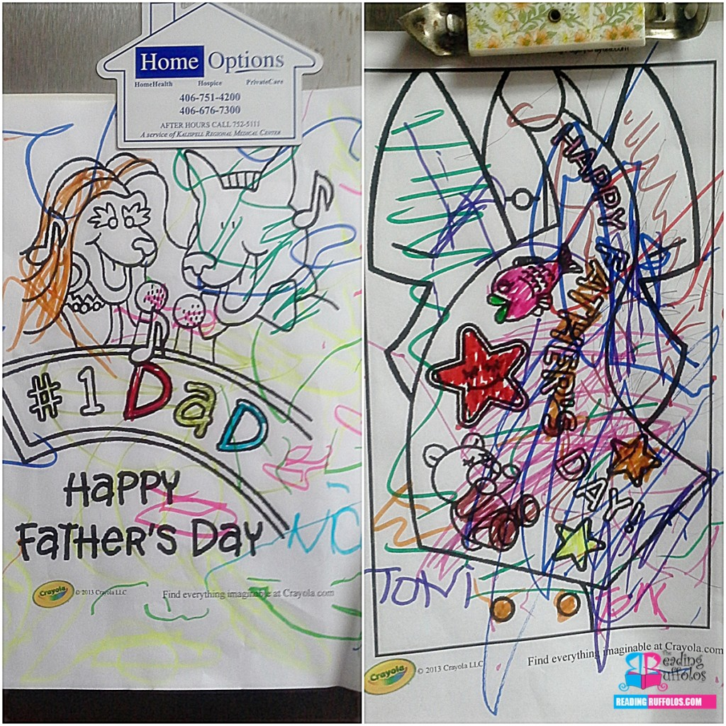 From Nick and Toni: Happy Father's Day!
