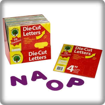 9 educational treasures you'll find at the dollar tree store - die-cut letters - readingruffolos