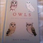 Owls captured…in a book